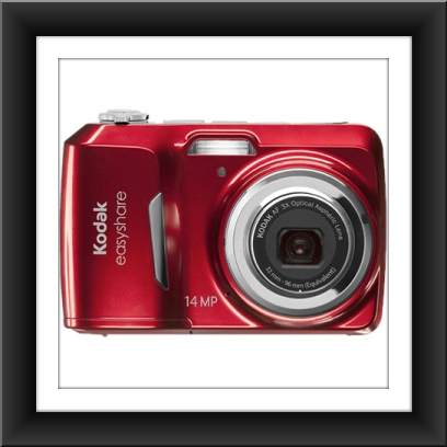 14 MP Kodak EasyShare C1530 14 Megapixel Compact Camera - Red